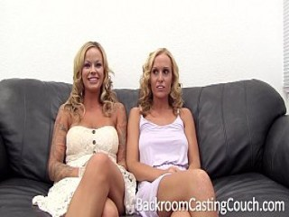 Un casting con un par de novias